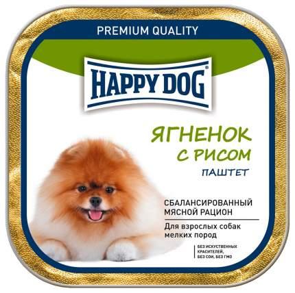 Консервы для собак Happy Dog NaturLine паштет, ягненок, рис, 125г