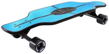 Скейтборд Y-SCOO Longboard Shark TIR 31 с сумкой blue-black