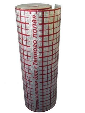 Подложка для теплого пола 5 мм (30 м2) Изоком ПЕР00004092