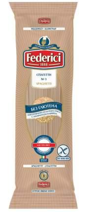 Спагетти Federici № 3 безглютеновые из бурого риса с амарантом и киноа 250 г