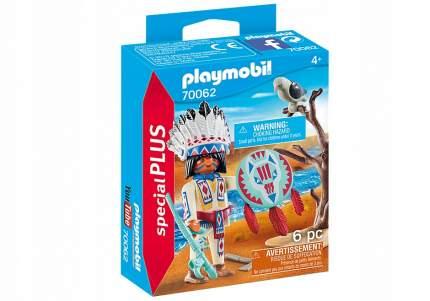 Конструктор Playmobil Индейский вождь 70062