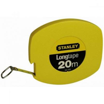 Рулетка 20мх9,5мм LongTape STANLEY 0-34-105