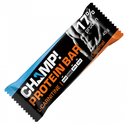 Батончик Леовит Champ! протеиновый карамель