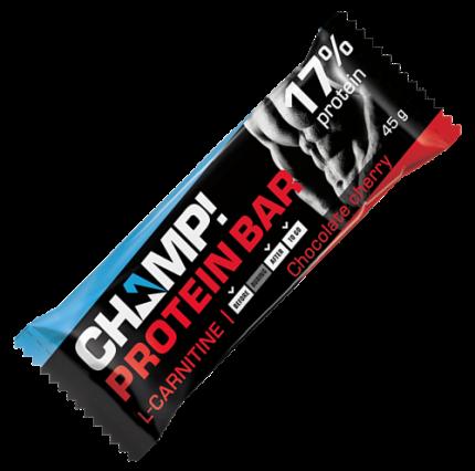 Батончик Леовит Champ! протеиновый шоколадная вишня