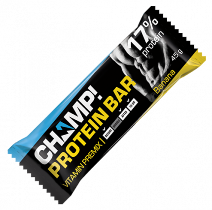 Батончик Леовит Champ! протеиновый банан