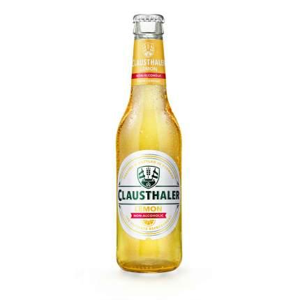 Пиво безалкогольное Clausthaler Lemon светлое 0,33 л