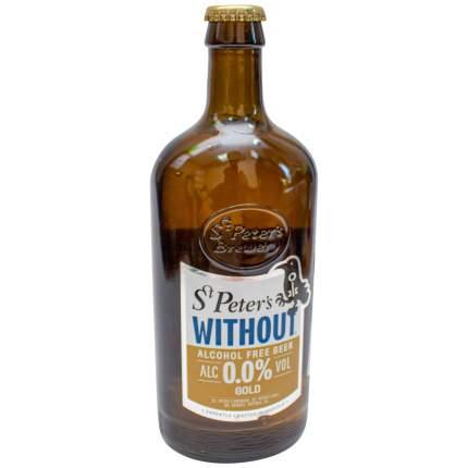 Безалкогольное пиво St. Peter's Without Gold светлое 0,5 л