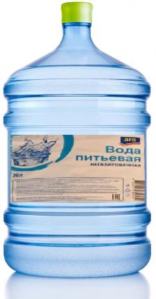 Вода питьевая Aro негазированная 19 л