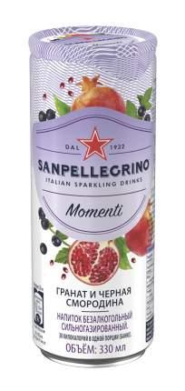 Газированный напиток Sanpellegrino сокосодержащий гранат и черная смородина 0,33 л