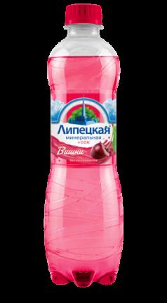 Напиток сокосодержащий Липецкая со вкусом вишни 1,5 л