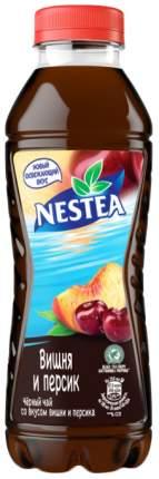 Холодный чай Nestea черный вишня и персик 1,5 л