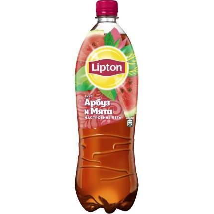 Холодный чай Lipton черный арбуз и мята 1,5 л