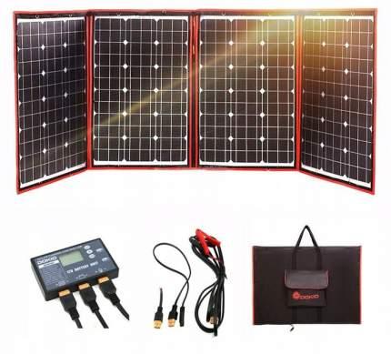 Складная солнечная панель для кемпинга Dokio, 150W