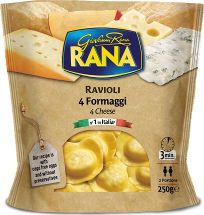 Равиоли Rana 4 сыра охлажденные