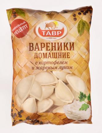 Вареники Тавр картофелем и жареным луком 900 г