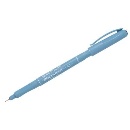 """Ручка-линер """"Document"""" черная, 0,1мм"""