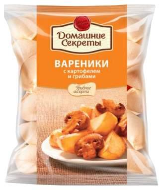 Вареники Домашние Секреты с картофелем и грибами 800 г