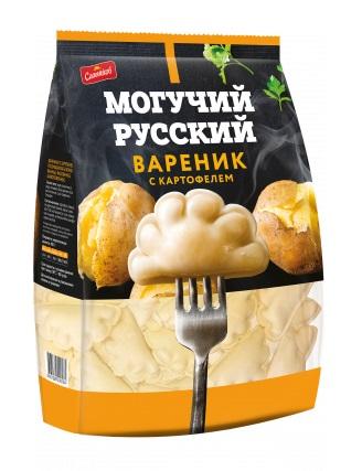 Вареники Сальников с картофелем замороженные 900 г
