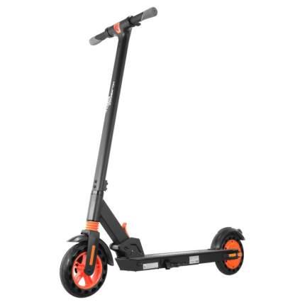 Электросамокат Kugoo S1 черно-оранжевый