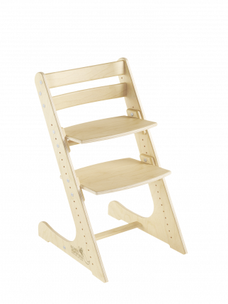 Детский растущий стул Конек Горбунек Комфорт Береза