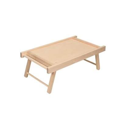 Стол-поднос складной маленький KETT-UP ECO ROMANTIC, натуральный