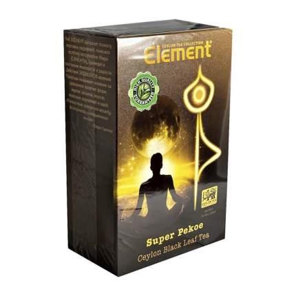 Чай Элемент Супер Пеко черный 250 грамм