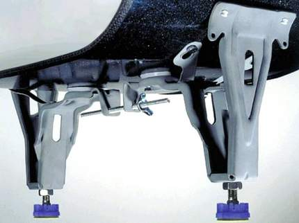 Ножки для стальной ванны Kaldewei 581670000000