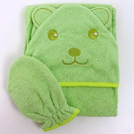 Полотенце Топотушки уголок М8 зеленый 75*100 см