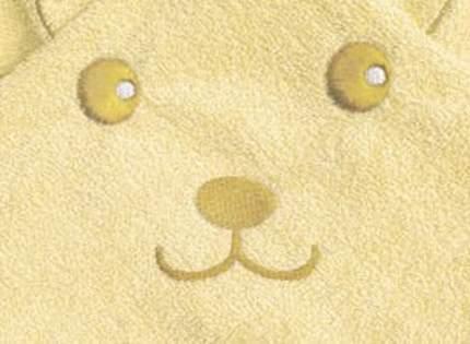 Полотенце Топотушки уголок М8 желтый 75*100 см