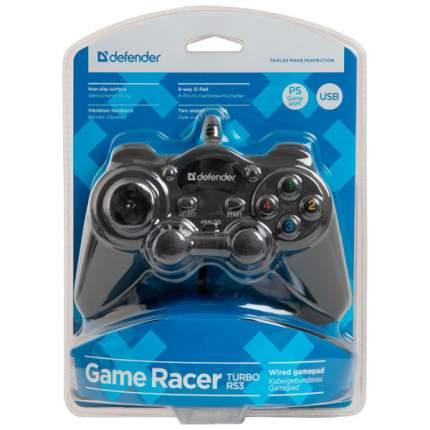 Геймпад Defender Game Racer TurboRS3 Black (64251)