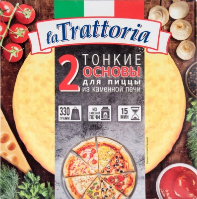 Основа для пиццы La Trattoria