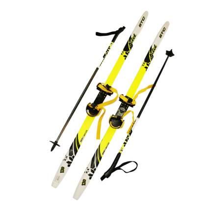 Лыжный комплект с комбинированным креплением 130 STC степ Sable kid lemon