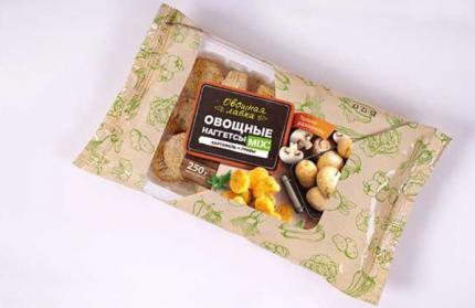 Наггетсы овощные Овощная лавка картофель-грибы 250 г