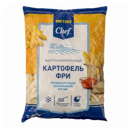 Картофель фри Metro Chef обжаренный замороженный 2,5 кг