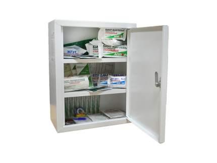 Аптечка первой помощи работникам (в металл. шкафу) по приказу №169