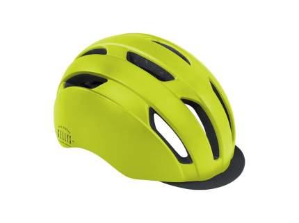 Детский велосипедный шлем Kellys TOWN CAP,ярко желтый, M/L