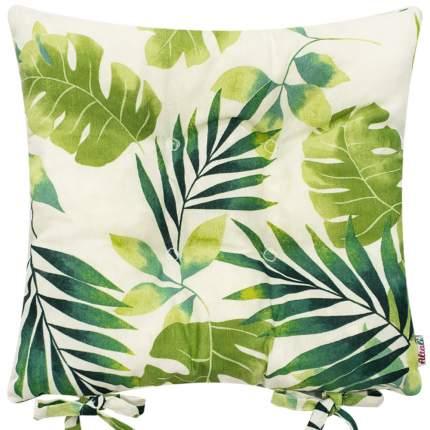 Декоративная подушка на стул с завязками Тропикана, Altali, 41x41см, P705-1849/1