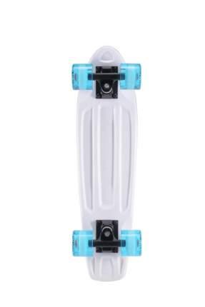 Круизер пластиковый PLANK MINIBOARD 22 (Белый)
