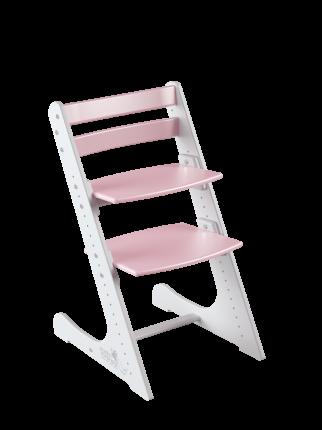 Детский растущий стул Конек Горбунек Комфорт Белый-сакура