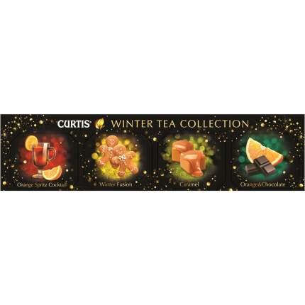 """Чай черный Curtis """"Winter Tea Cllection"""", с добавками, 4 вида чая по 5 сашетов"""