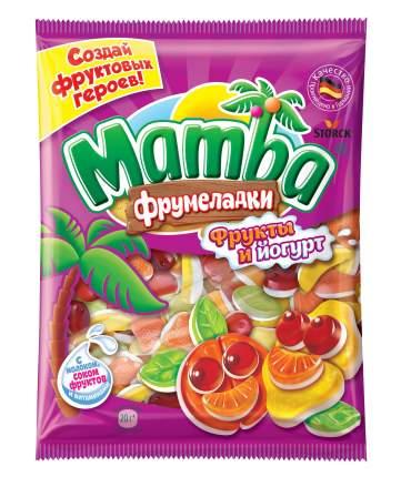 Мармелад жевательный Mamba Фрумеладки фрукты и йогурт 140 г