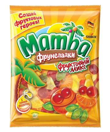 Мармелад жевательный Mamba Фрумеладки фруктовый микс 140 г