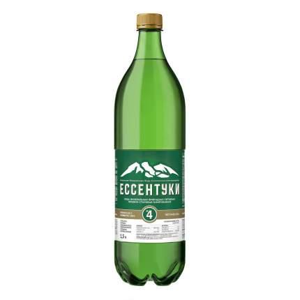Вода минеральная Ессентуки №4 питьевая газированная лечебно-столовая 1,5 л