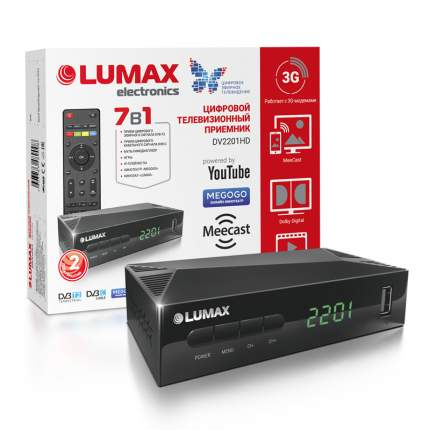 Цифровой ресивер Lumax DV2201HD