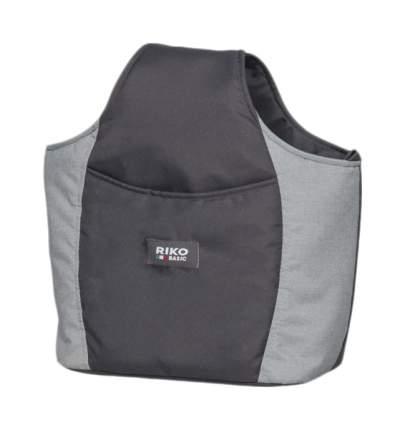 Коляска для близнецов SAXO  RIKO BASIC 02 серый-чёрный
