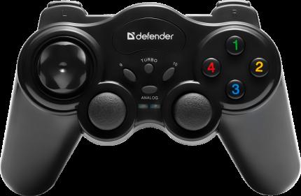 Геймпад Defender Game Master Wireless Black (64257)