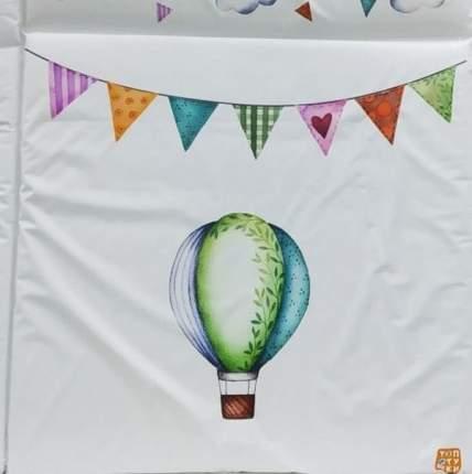 Пеленальный матрасик Топотушки Воздушные шары 94х75 см. 7 шт. в уп.