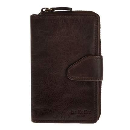 Портмоне мужское Dr.Koffer X510413-248 темно-коричневое