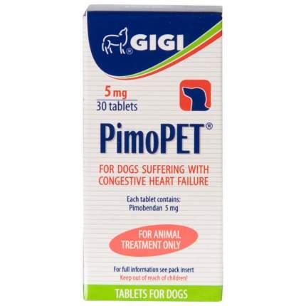 Препарат GIGI ПимоПЕТ для лечения сердечной недостаточности у собак, 30 таб