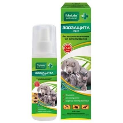 Спрей Пчелодар ЗооЗащита для защиты животных от клещей, комаров и мошек, 150 мл